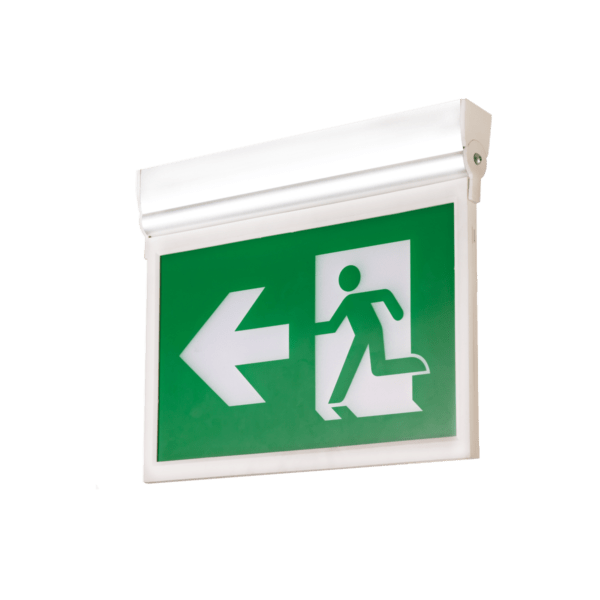 Self-Powered Swing Type LED Running Man Exit Sign